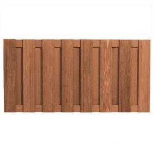 Bangkirai Hardhouten Tuinscherm 90 x 180 cm 103382