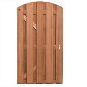 Bangkirai Hardhouten Toog deur met slotgat 180 x 100 cm