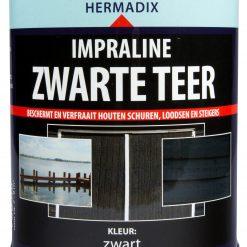 Hermadix Impraline zwarte teer 750ml