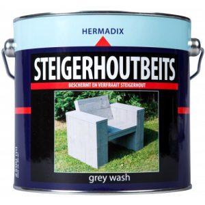 Hermadix Steigerhoutbeits Grey Wash 2,5L