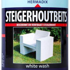Hermadix Steigerhoutbeits White Wash 750ml