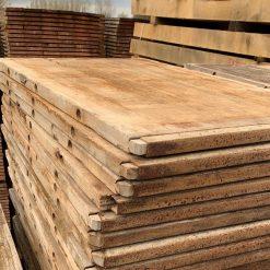 hardhouten steenschot 73 x 120 x 4 cm