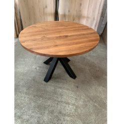 Eiken tafelblad Diameter rond 120 cm