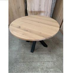 Eiken tafelblad Diameter rond 140 cm