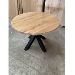 Eiken tafelblad Diameter rond 160 cm