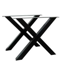Stalen X tafelpoten per stuk