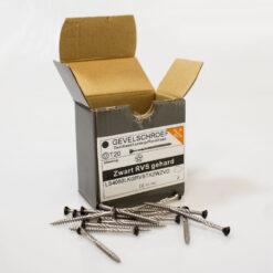RVS Gevelschroef ZWART 4.0 x 50 mm